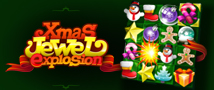 Xmas Jewel Explosion Small Banner