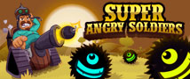 Super Angry Soldiers Small Banner