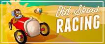 Old Skool Racing Small Banner