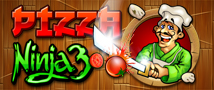 Pizza Ninja 3 Small Banner