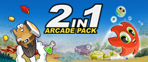 2in1 Arcade Pack Small Banner