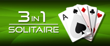 3in1 Solitaire Small Banner
