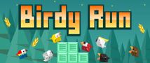 Birdy Run Small Banner